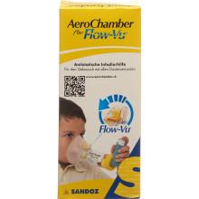 AEROCHAMBER PLUS Flow-Vu avec masque (1-5 ans) jaune