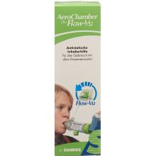 AEROCHAMBER PLUS Flow-Vu sans masque (5+ ans) vert
