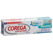 COREGA ultra crème adhésive neutre tb 40 g