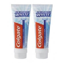 COLGATE SENSAT WHITE dentifrice duo 2 x 75 ml