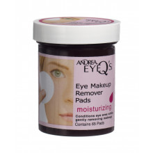 ANDREA eye make up remover pads 65 pce