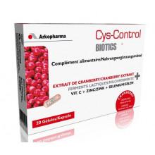 CYS-CONTROL Biotics caps probiotiques 20 pce