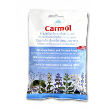 CARMOL Bonbonsauxherbessanssucre 75 g