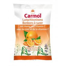 CARMOL Bonbons à sucer orange 75 g