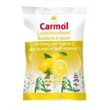 CARMOL Bonbons à sucer citron 75 g