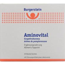 BURGERSTEIN Aminovital pdr arôme de pamplemousse 20 sach