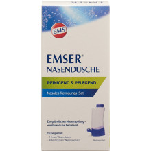 EMSER douche nasale + 4 sachets de sel de rinçage