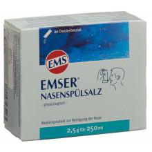 EMSER sel rinçage 20 sach 2.5 g