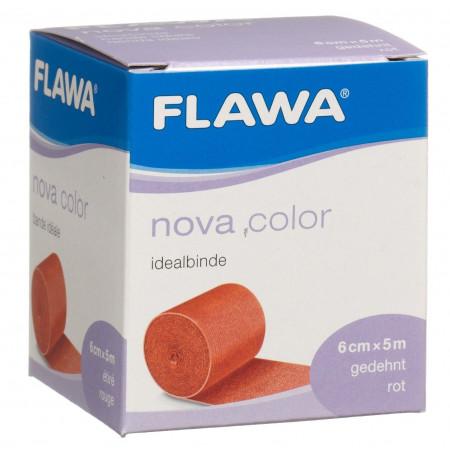 FLAWA NOVA COLOR bande idéale 6cmx5m rouge