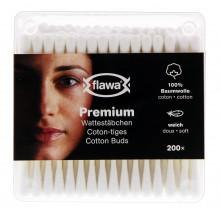 FLAWA Premium coton tiges bte 200 pce