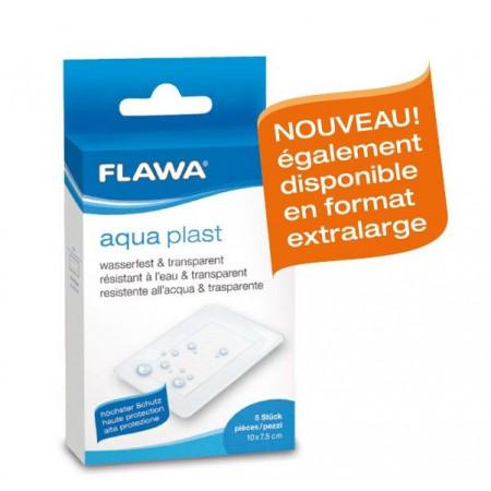 FLAWA AQUA PLAST pans rapid 10x7.5cm transp 5 pce