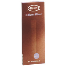 FLAWA Silicon Plast 4.5x29.5cm 5 pce