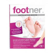 FOOTNER set pied exfolia socks contre durillons
