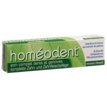 HOMEODENT soin dentifrice compl chlorophylle 75 ml