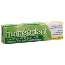 HOMEODENT soin dentifrice compl citron tb 75 ml