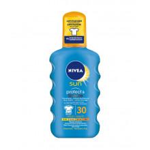 NIVEA Sun spray solaire Protect&Bronze FPS 30 200 ml