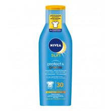 NIVEA Sun lotion solaire Protect & Bronze FPS 30 active le bronzage 200 ml