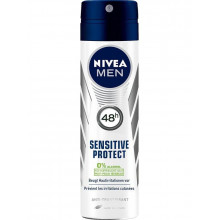 NIVEA Male déo aéros Sensitive Protect spr 150 ml