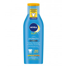 NIVEA Sun lotion solaire Protect & Bronze FPS 20 active le bronzage 200 ml