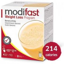 MODIFAST programme drink banane, 8x55g