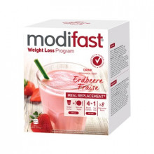 MODIFAST programme drink fraise, 8x55g
