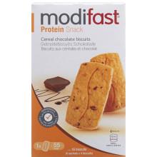 MODIFAST protein snack biscuits céréale chocolat, 200g