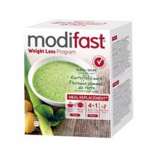 MODIFAST programme soupe pomme de terre/poireau, 8x55g
