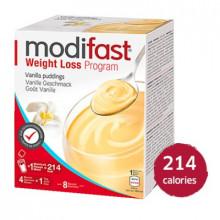 MODIFAST programme crème vanille, 8x55g