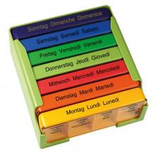 MEDI-7 pilulier semainier colore