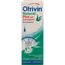 OTRIVIN Natural Plus avec Eucalyptus spray 20 ml