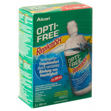 OPTI FREE RepleniSH solution décontamin 2 x 300 ml