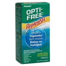 OPTI FREE RepleniSH solution décontamin fl 120 ml