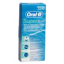 ORAL-B Superfloss soie dentaire sach 50 pce