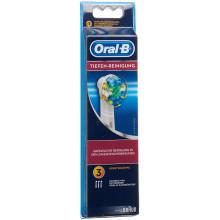ORAL-B brosses de rechange nettoyage en profondeur 3 pce