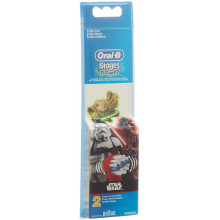 ORAL-B brossettes Stages Power StarWars 2 pce