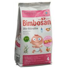BIMBOSAN Bio Bifrutta pdr riz + fruits sach 300 g