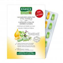 RAUSCH Capsules vitalité aux herbes suisses (emballage pour 1 mois)