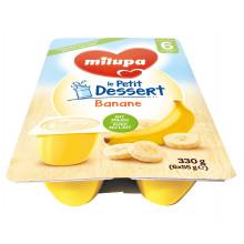MILUPA le Petit Dessert banane 6 x 55 g