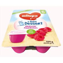 MILUPA le Petit Dessert framboises 6 x 55 g