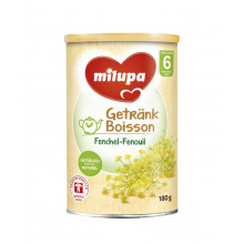 MILUPA boisson au fenouil après 6 mois 180 g