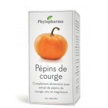 PHYTOPHARMA Pépins de courge 100 capsules