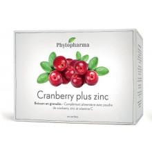PHYTOPHARMA cranberry plus zinc sach 20 pce