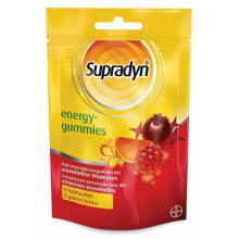 SUPRADYN Energy-Gummies 25 Gommes Fruitées