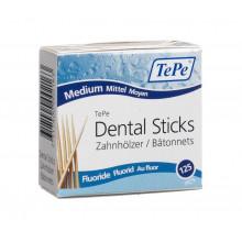 TEPE cure dents fluor bleu bois tilleul 125 pce