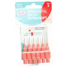 TEPE Interdental Brush 0.50mm x-soft rouge blist 6 pce