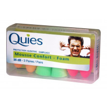 QUIES tampons protect bruit mousse 6 pce