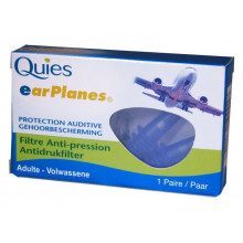 QUIES EARPLANES protect surpression adultes 2 pce