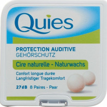 QUIES boules protect bruit cire 16 pce