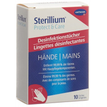STERILLIUM Protect&Care Tiss 10 pce