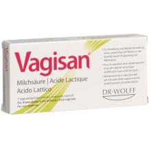 VAGISAN ovules acide lactique blist 7 pce